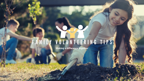 Guest Post: Family Volunteering Tips