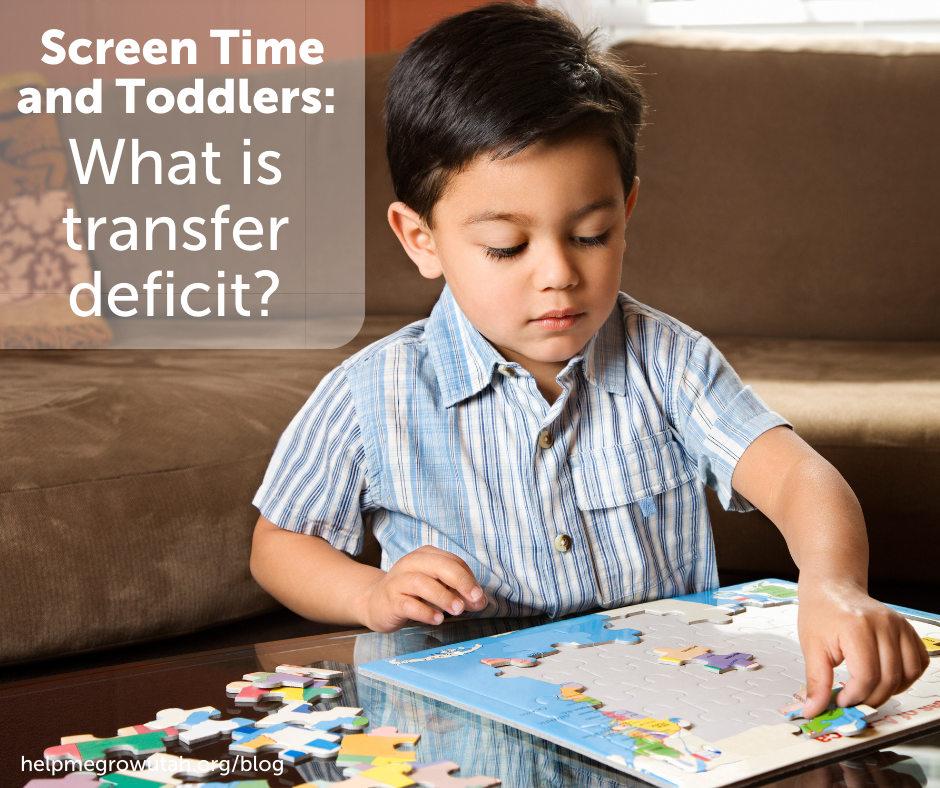 Guest Post: Screen time and toddlers: What is transfer deficit?