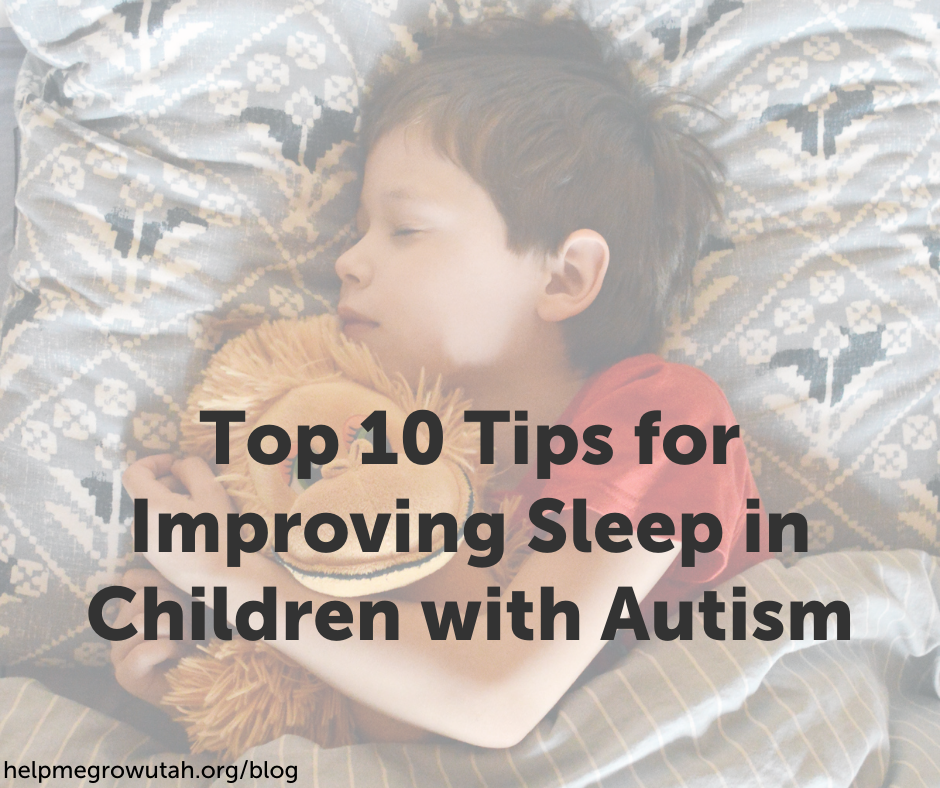 Top 10 Tips for Improving Sleep in Children with Autism