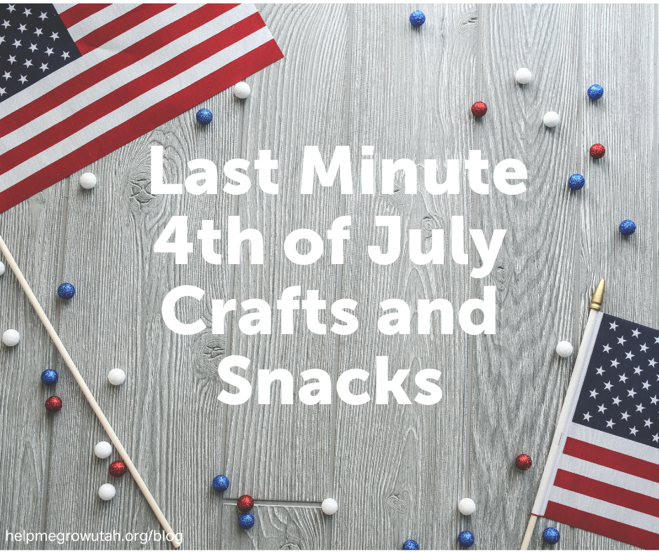 Last Minute 4th of July Crafts and Snacks