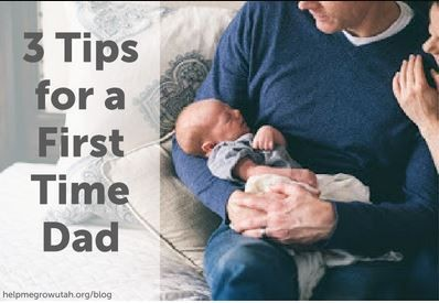 Three Tips for A First Time Dad