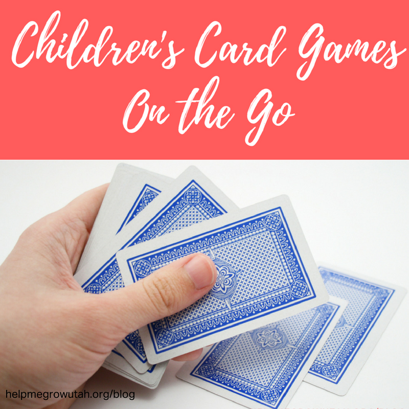 Children's Card Games on the Go