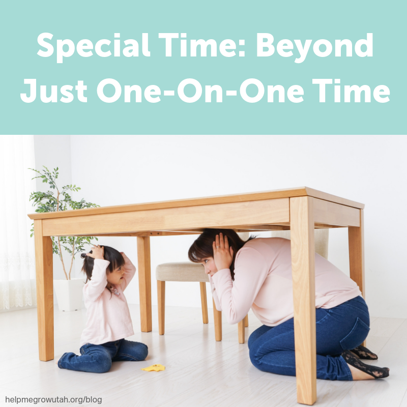 Special Time: Beyond Just One-On-One Time