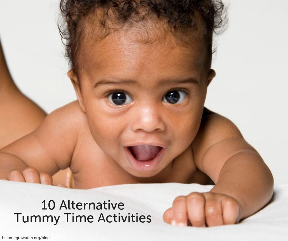 10 Alternative Tummy Time Activities